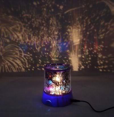 Lampu Proyektor Kembang Api