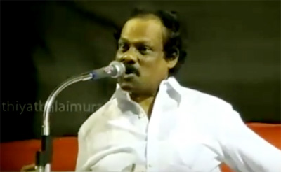 Leoni mimics Vaiko in DMK public meeting