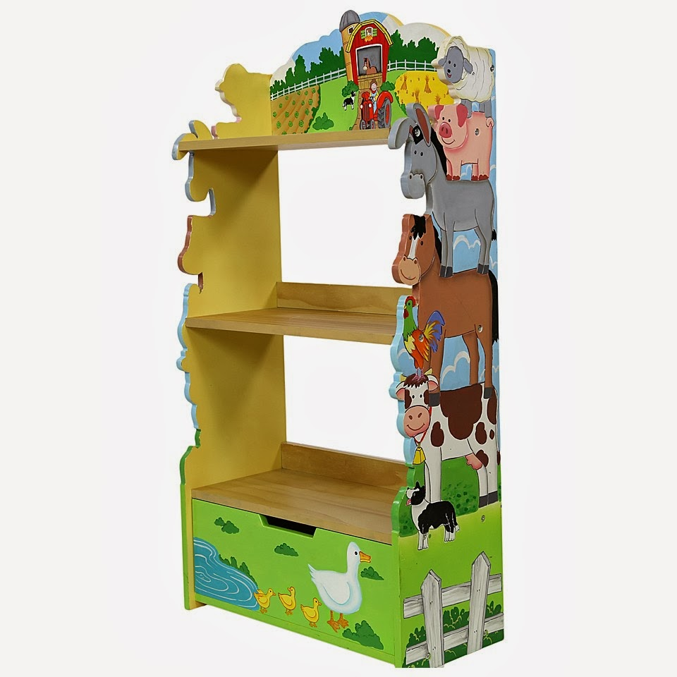 Childrens Animal Themed Bookcase