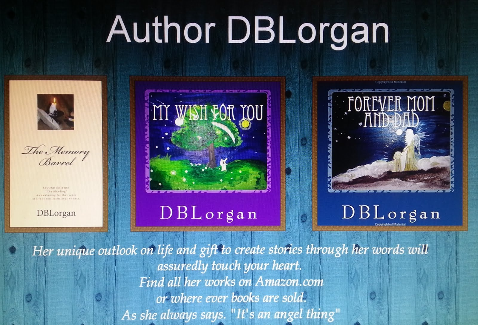 ALL MY BOOKS AVAILABLE ON AMAZON