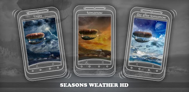Beautiful seasons weather HD v2.01 APK