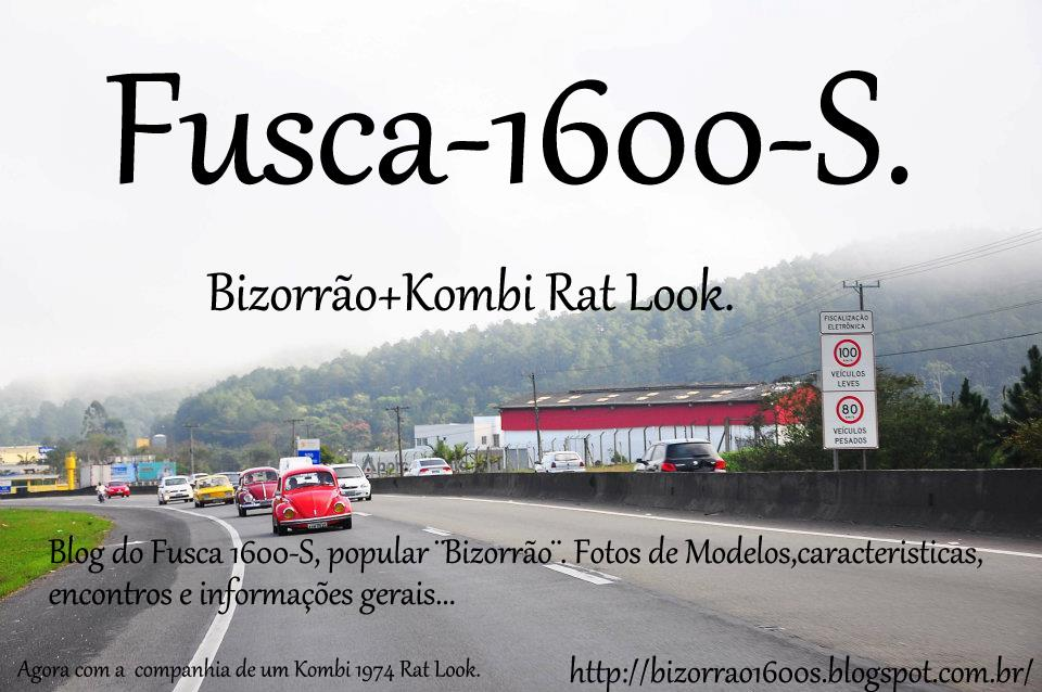 Fusca 1600S + Kombi Rat Look