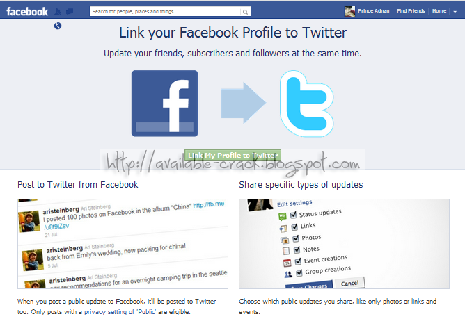 how to delete facebook profile link