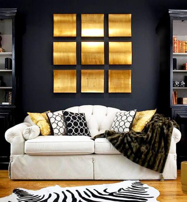 Chambre A Coucher Moderne Noir Et Blanc : une base et d'une tige en métal laqué noir …a présenté les …