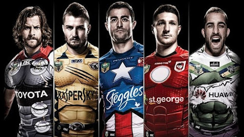 Clubes del Rugby League jugarán con camisetas de los héroes de Marvel