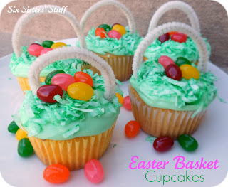 25 easter treat recipes six sisters stuff easter basket cupcakes negle Images