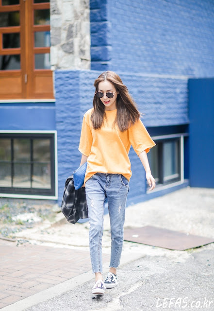 Seoul street fashion - lefas