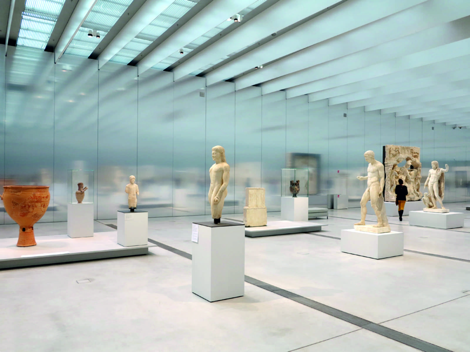 Louvre lens by sanaa and imrey culbert a as architecture - Louvre architekt ...
