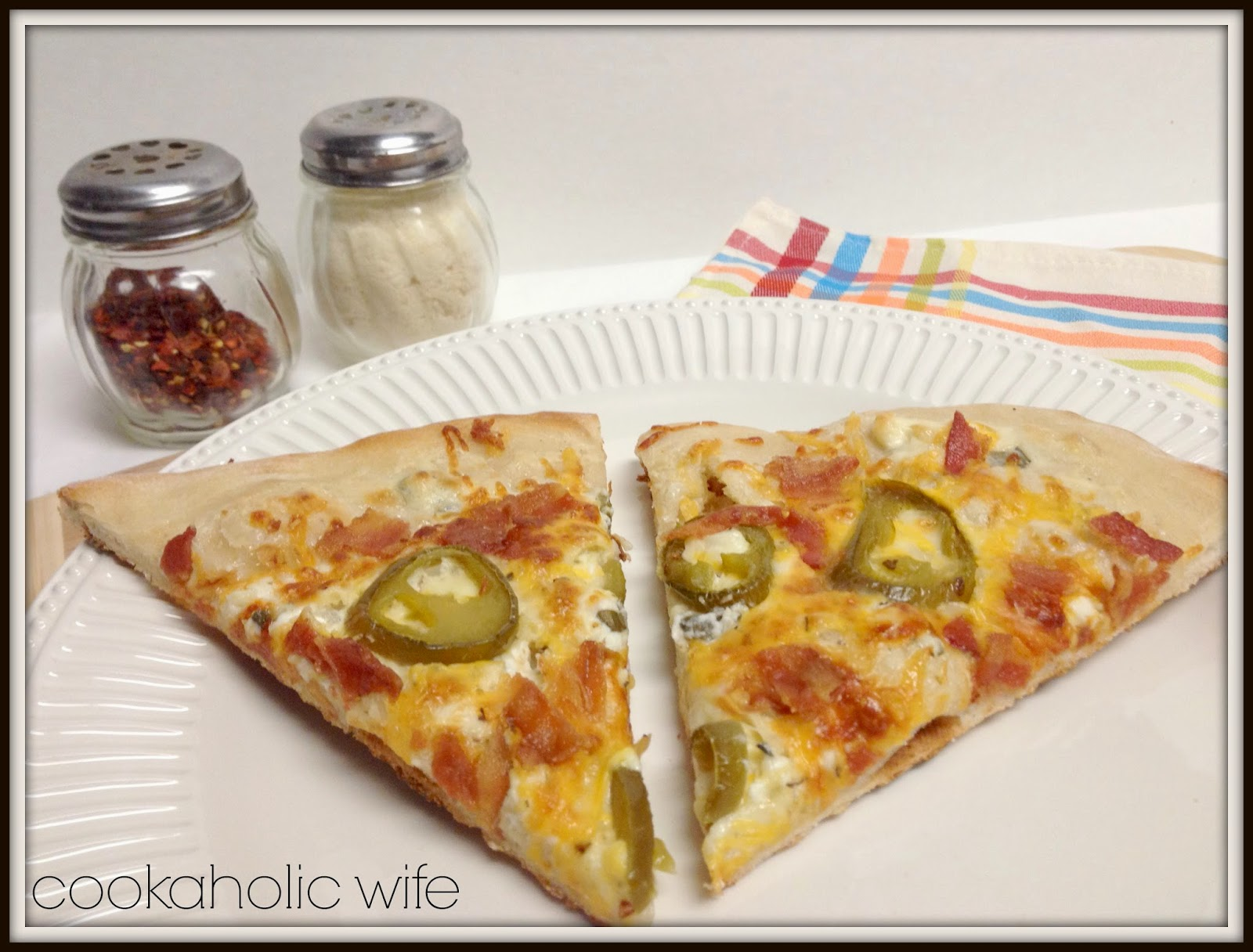 Cookaholic Wife: Recipe Remake: Jalapeno Popper Pizza