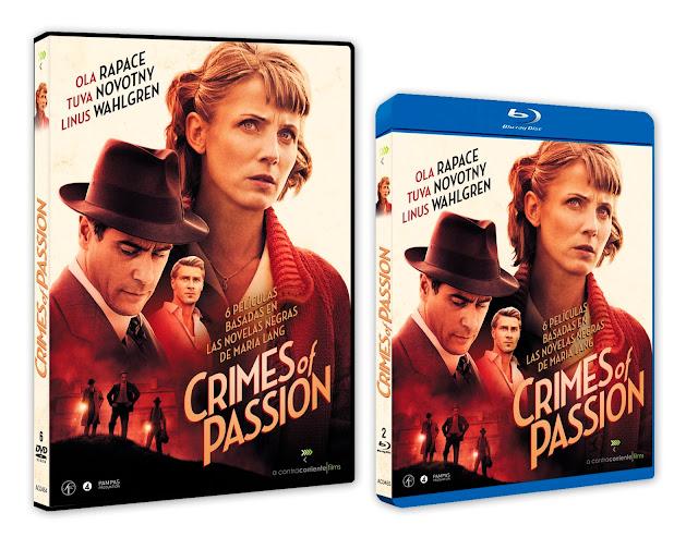A la venta en DVD y Blu-ray la serie inédita 'Crimes of Passion', basada en Best Sellers de Maria Lang