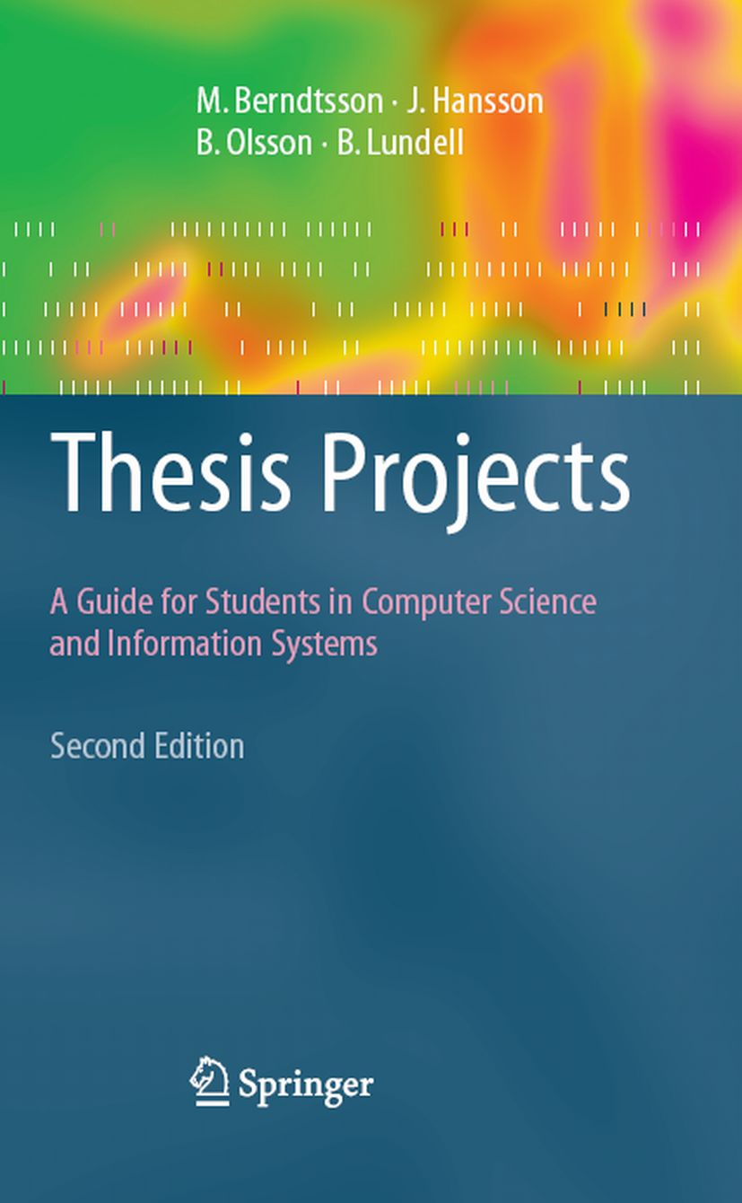 Example of thesis proposal for computer science. thesis dissertation ...