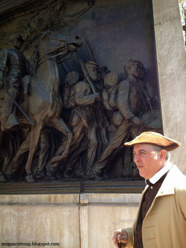 The Freedom Trail tour guide - Boston, Massachusetts, on Semi-Charmed Kind of Life