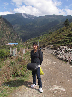 Dhunche, Trekking starts from here, Langtang National park
