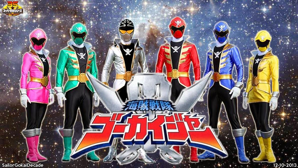 Desmond's Super Sentai Blog: My Top 5 Super Sentai series