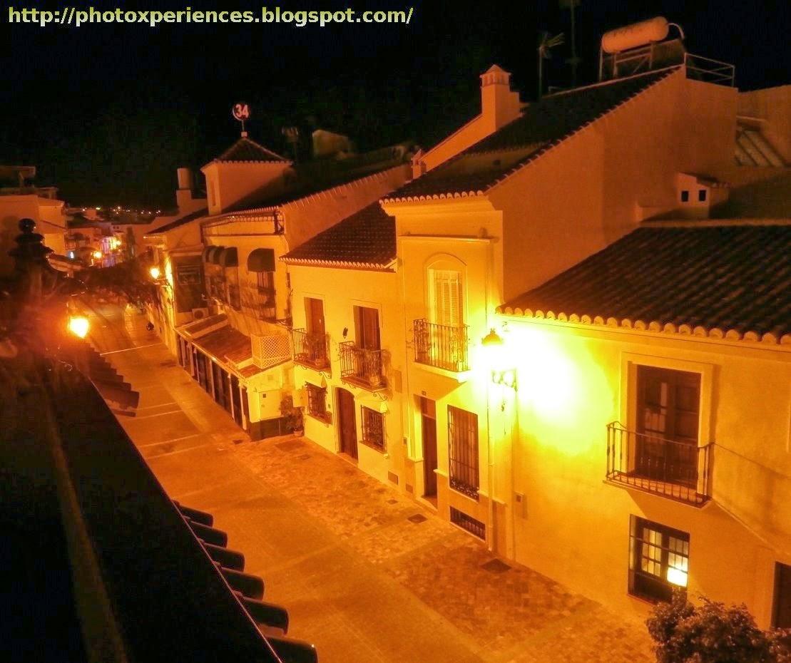 Hernando de Carabeo Street in Nerja. Calle Hernando de Carabeo en Nerja.