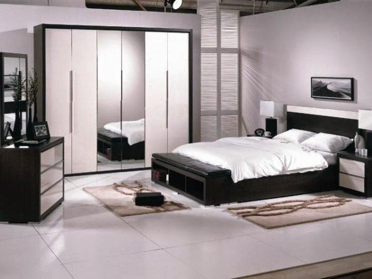 Black white boys bedroom get stylish and masculine impression for Black bedroom wallpaper