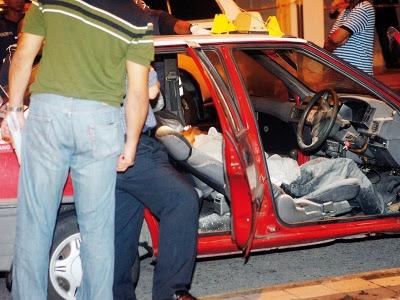 Pemandu teksi mati dikelar