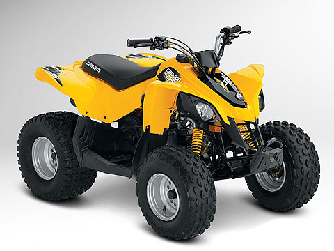 2012 Can-Am DS 90 ATV pictures. 480x360 pixels