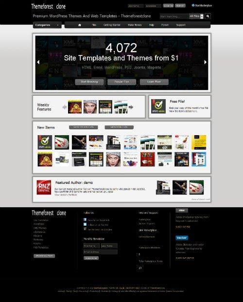 StartMarketPlace - ThemeForest Clone v1.0.1