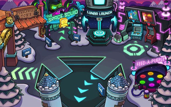 Club Penguin May Party