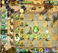 Plants vs zombie game
