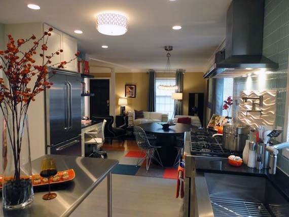 flush mount kitchen lighting ideas for luxurious look