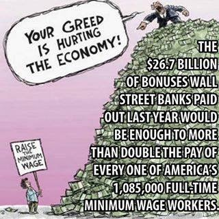 "Billionaire calling ""Raise the Minimum Wage"" greed"