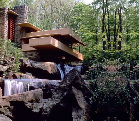 Travel Treasures Fallingwaters A Home By Frank Lloyd