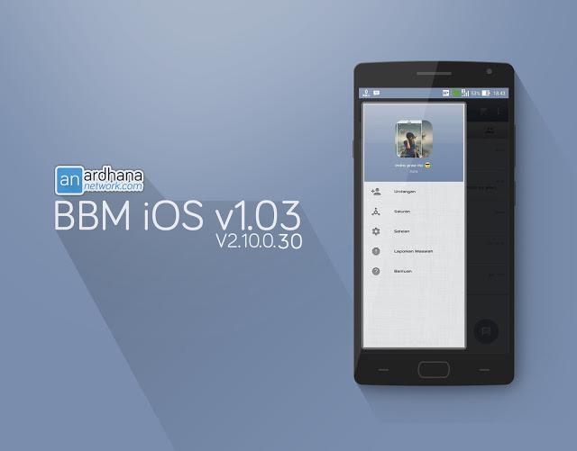 BBM iOS V1.0.3 - Ardhana Network