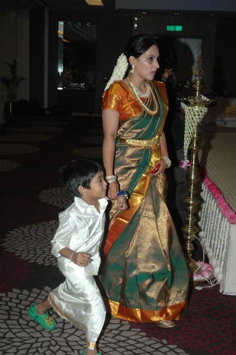 Director Selvaraghavan and Geethanjali Wedding Stills function pics