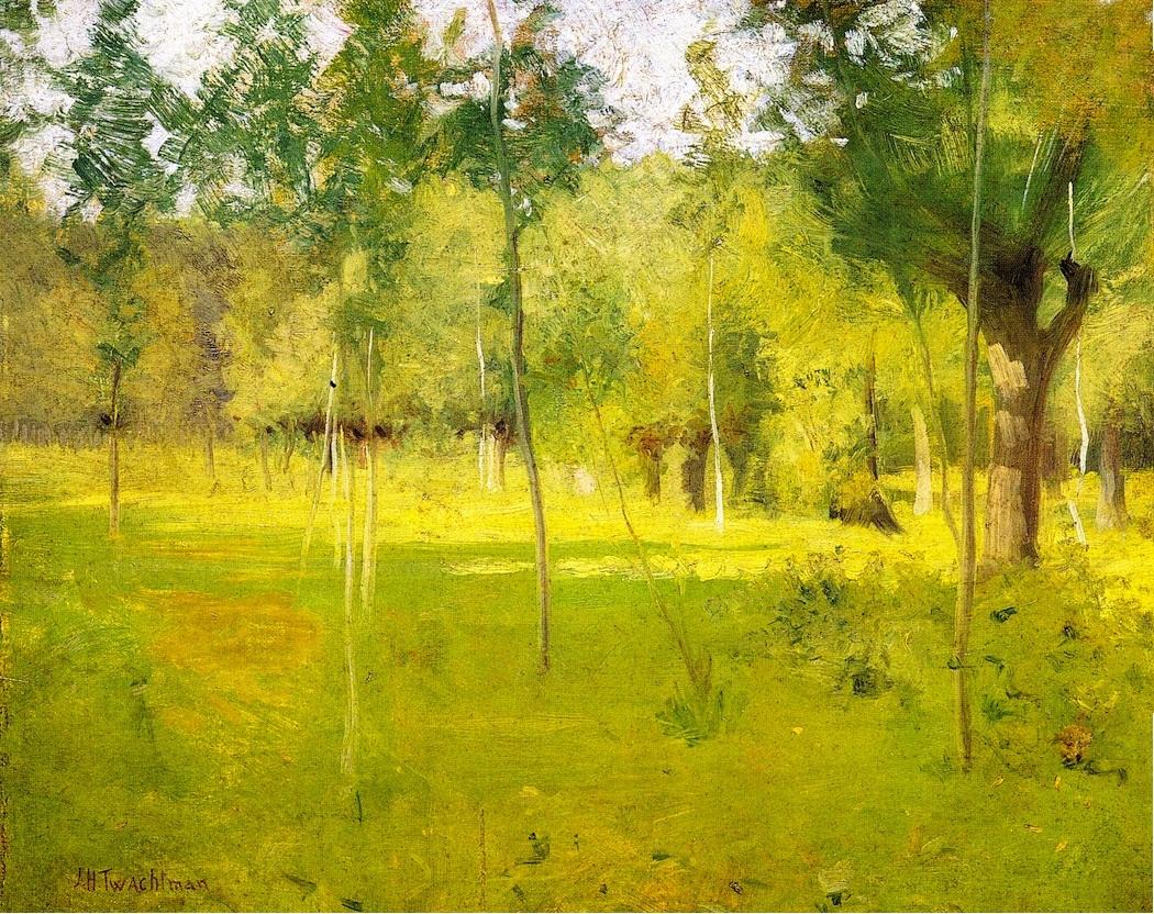 Donald Jurney Painters And Springtime