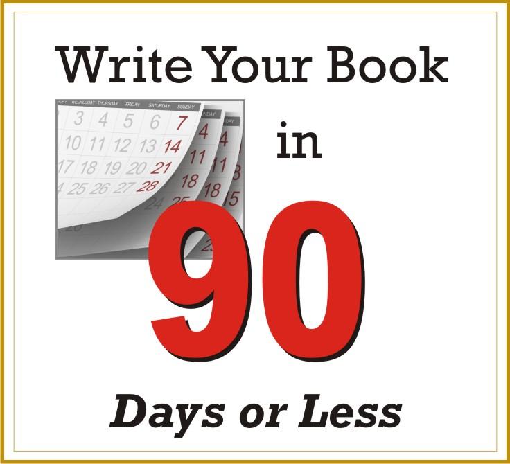 Write a book in 90 days