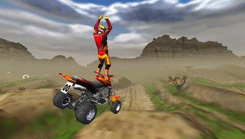 ATV Offroad Fury: Blazin' Trails PSP ISO Screenshoot 1