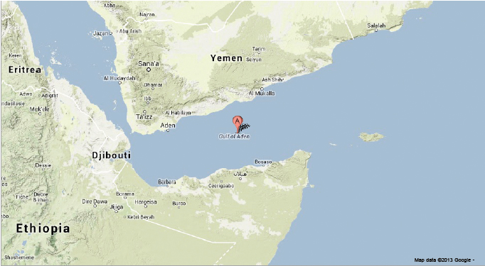 Sciency Thoughts Earthquakes beneath the Gulf of Aden