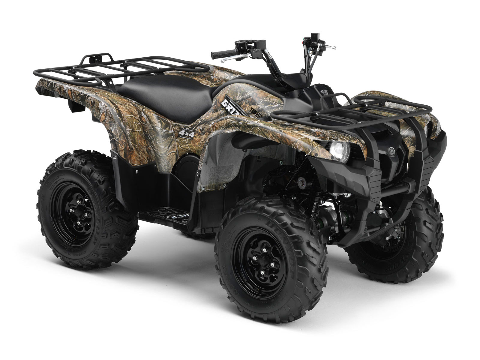 2009 yamaha grizzly 700 fi camo ap hd. Black Bedroom Furniture Sets. Home Design Ideas