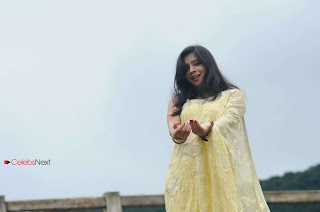 Nisha Shah Latest Pictures in Saree  0010