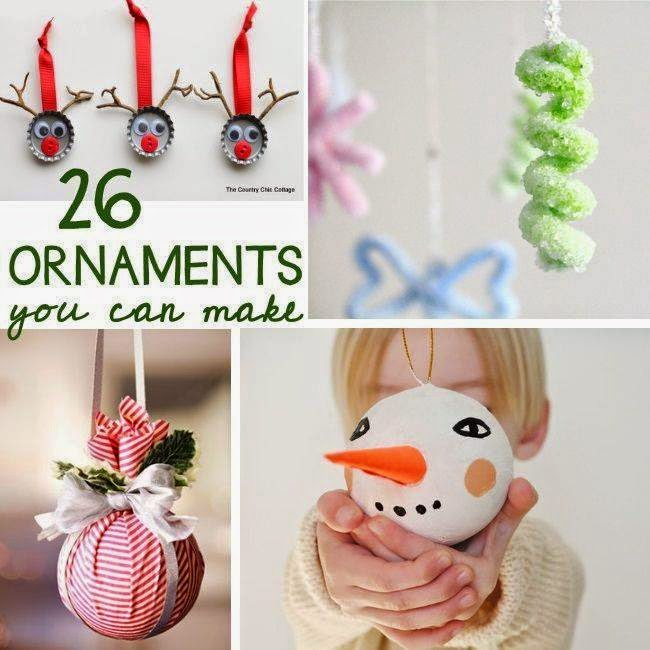 Ideas & Products: 26 Adorable Christmas Ornaments That You