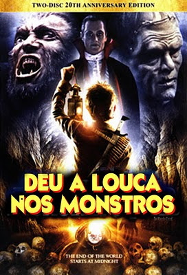 Deu a Louca nos Monstros Dublado 