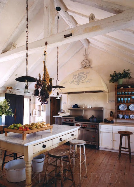 Eye For Design French Kitchens Keep Them Authenic