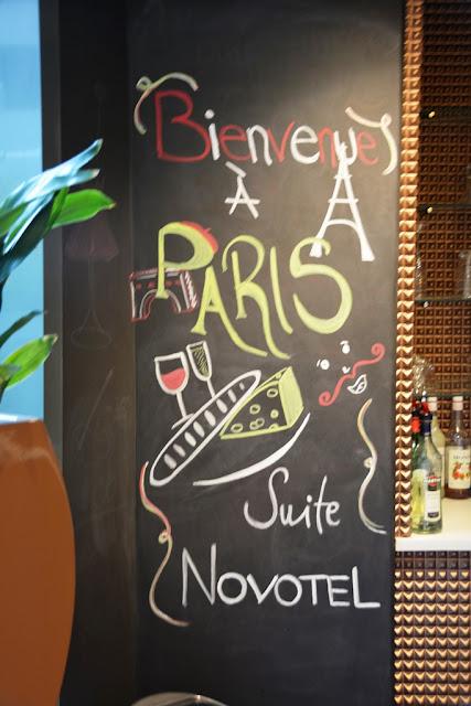 Suite Novotel Paris