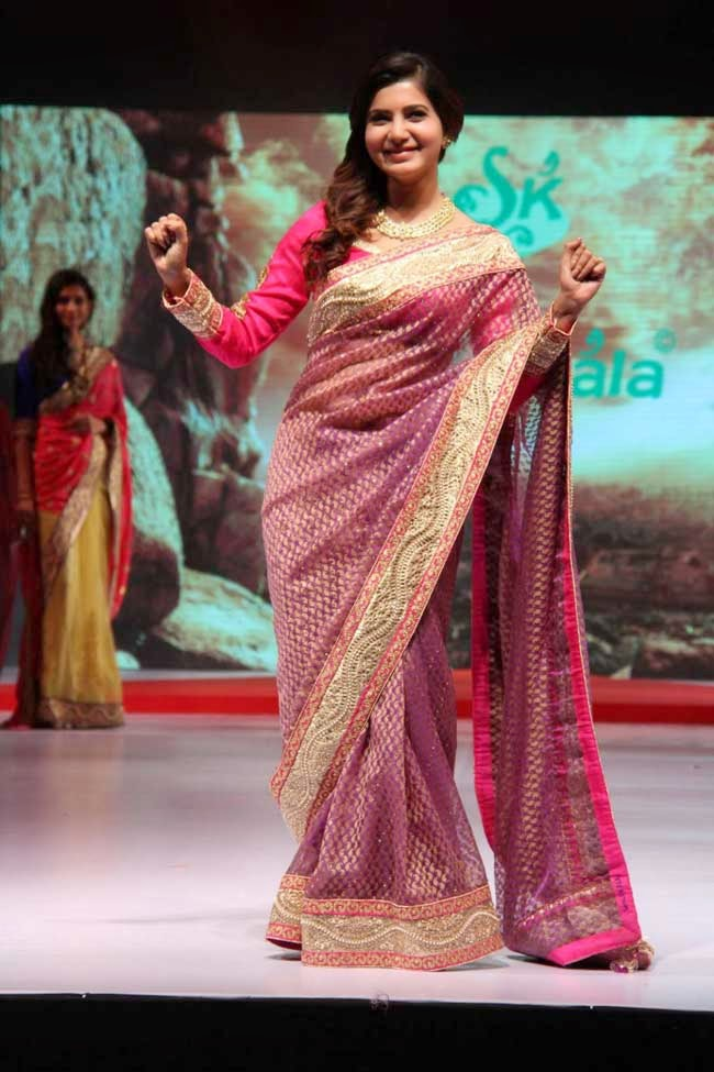Samantha Ruth Prabhu At Surat Dreams Fashion Show