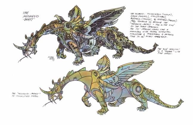 SITE WEB - Transformers (G1): Tout savoir en français: Infos, Images, Vidéos, Marchandises, Doublage, Film (1986), etc. - Page 2 Mechano-Beast