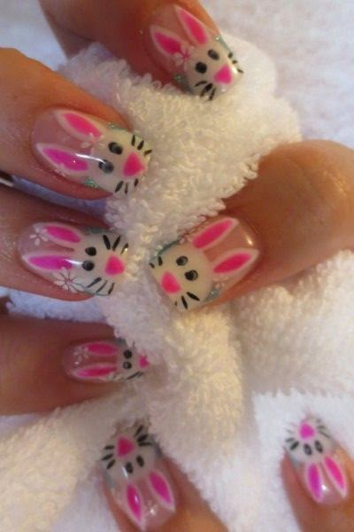 Adorable Easter Nail Art Ideas
