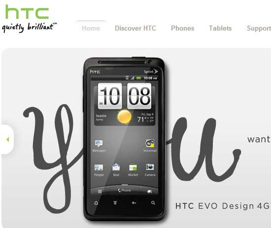 number of htc mobile phones sold in 2011