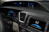 2015 New  Honda Civic MOdel Hybrid feature view