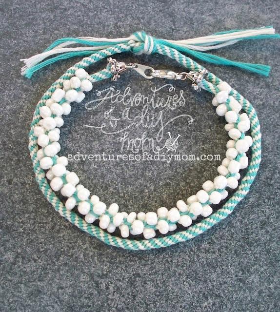 Kumihimo Beaded Bracelets