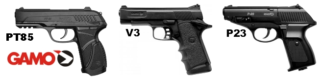 Pistolas de aire, Airgun, Pistolas de CO2, Waihruch, Gamo, Umarex