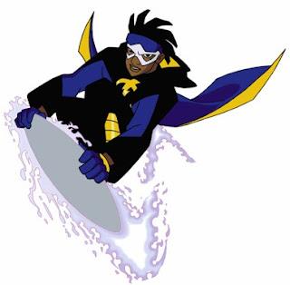 Personagem Superchoque, do desenho homônimo da Warner Bros.