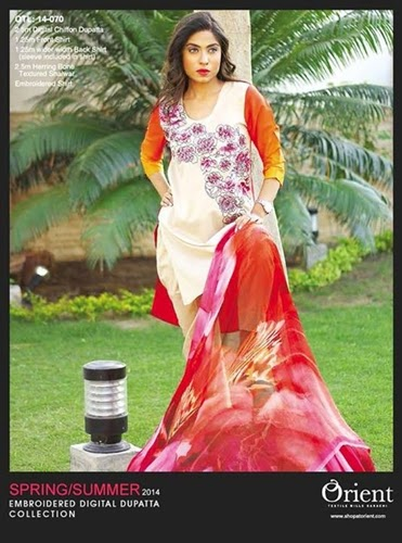 Orient Summer Digital Dresses 2014