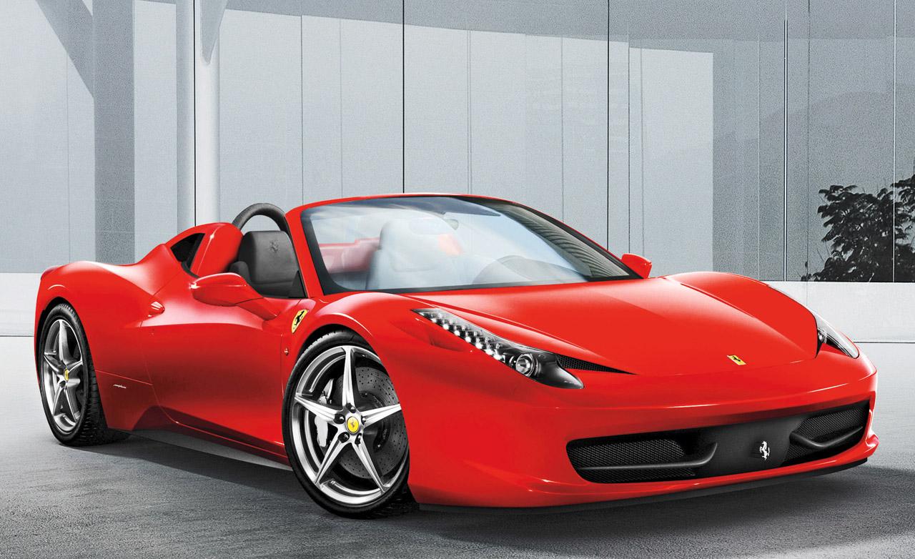 New cars from Ferrari